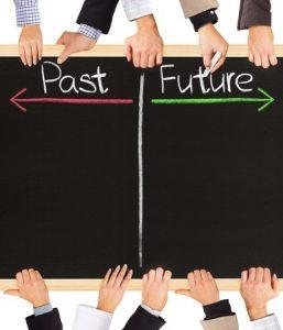 過去は未来ではない