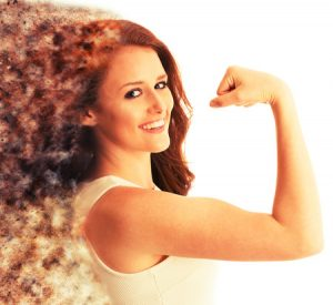 筋肉をつけたい女性