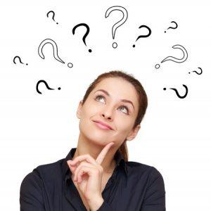 心の中の質問に意識を持つ