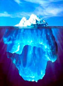 氷山 意識と無意識
