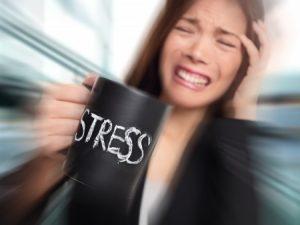 ストレス たまる