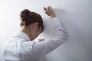 ストレス発散解消させる女性