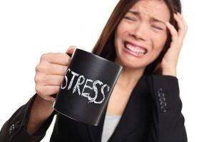 ストレスがたまる女性